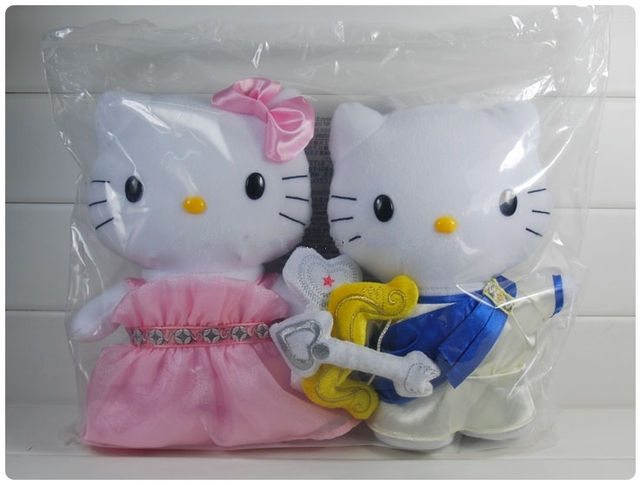 2013 Hello kitty toys for valentine's day gift soft doll stuffed toys hot selling free shipping