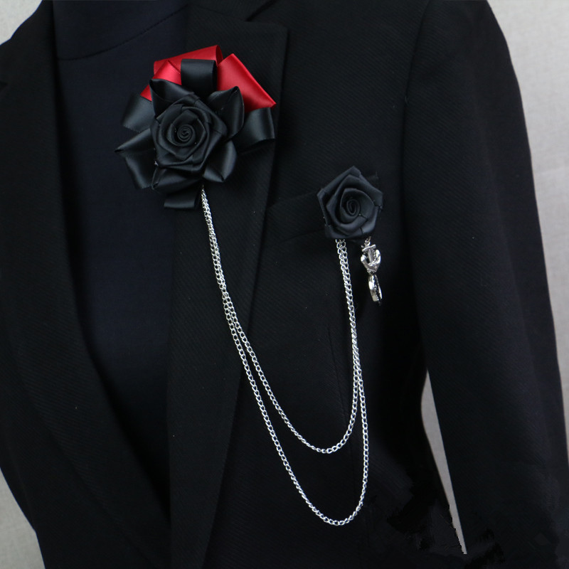 Handmade brooch male Men and Women suit Stick brooch pin wedding accessories for performance&show(China (Mainland))