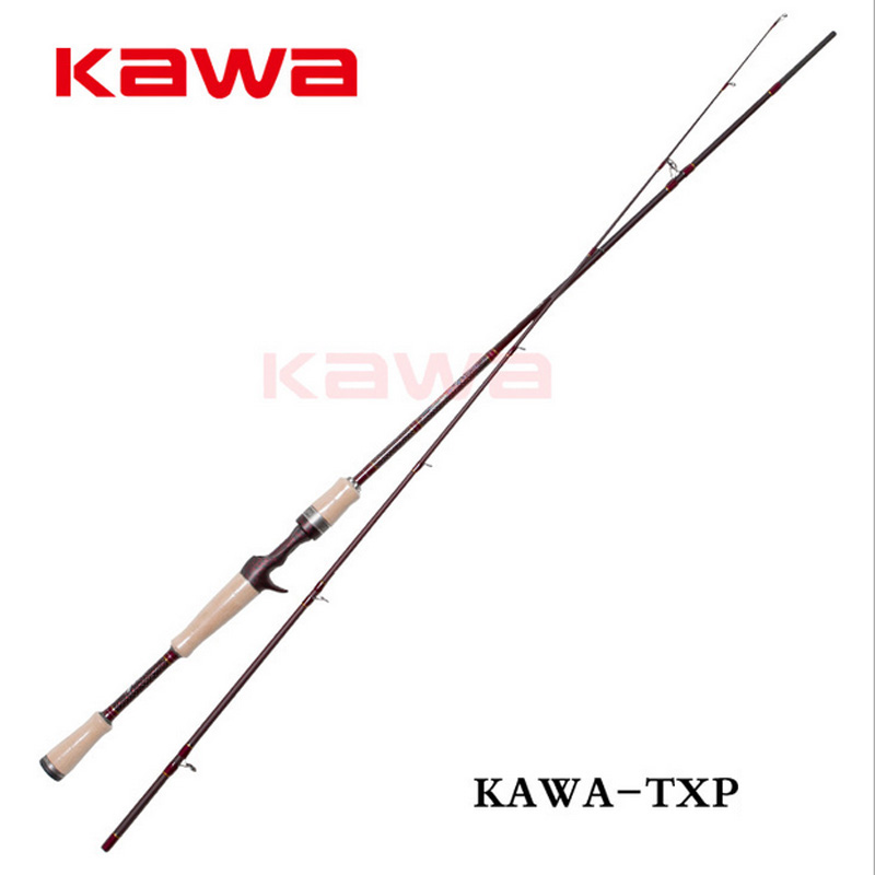 Фотография KAWA classical lure rod TXP Series 1.98m ML M MH Spinning/casting Professinal bass lure rod High carbon super light