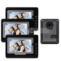 DIYSECUR 7 inch TFT Color LCD Display Video Door Phone Visual Intercom Doorbell Hands Free IR