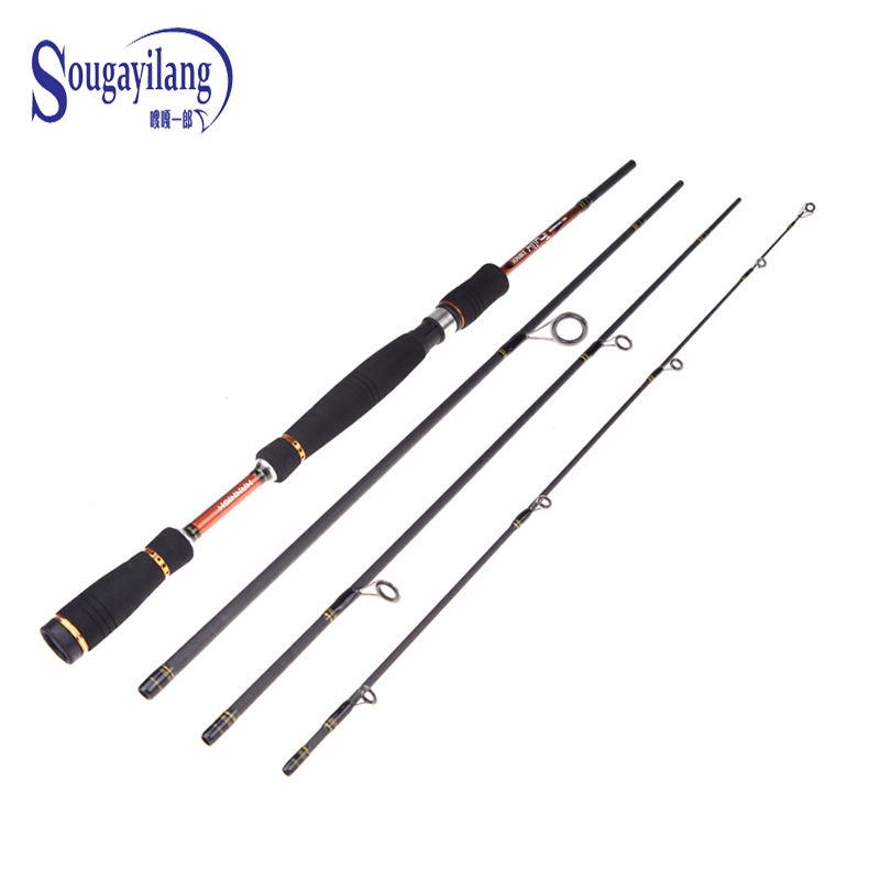 Top quality 4 section fishing rod strong telescopic for Top fishing rods