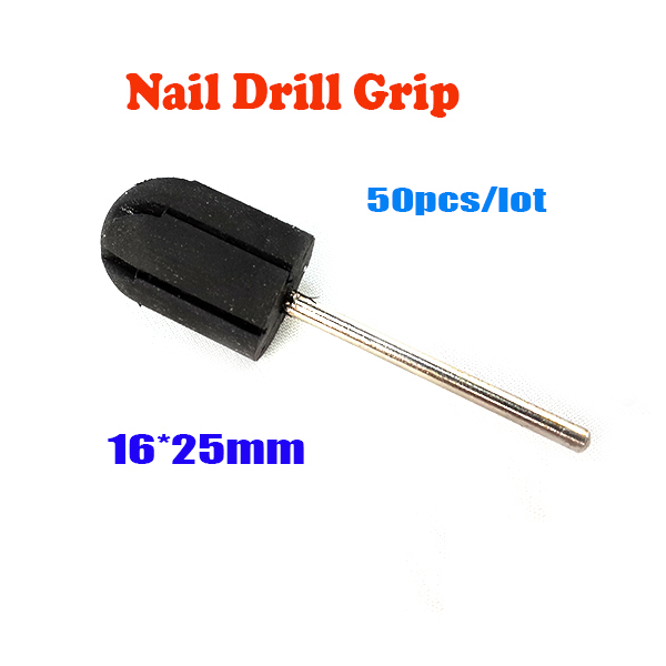 5 BeautyGaGa Professional Supply Nail Art Salon usage rubber 16*25mm grips drill accessories nail machine