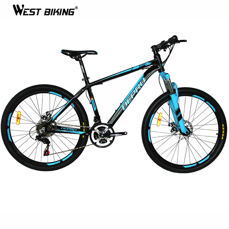 Mountain Bike Aluminum Alloy 21 speed Dual Disc Brakes 26 inch Variable Speed Drive Bicycle Men & Women Students Cycling Bicycle