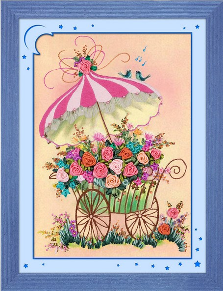 Popular ribbon embroidery kit buy cheap