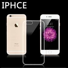 Прозрачный Clear Case Для IPhone 4 5 5S 6 6 S 7 Плюс Case Мягкие TPU Силиконовый Чехол Ультра Тонкий Телефон Сумки Случаи Мобильного Телефона Case(China (Mainland))