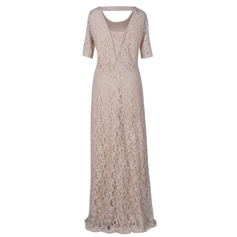 Nemidor Women\'s Full Lace Plus Size Formal Maxi Dress (3)