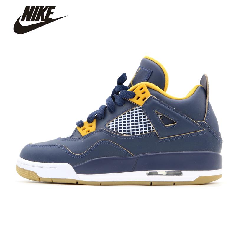 Nike Air Jordan Shoes 4 Dunk Women shoes Basketball shoes jordan shoes#408452-425(China (Mainland))