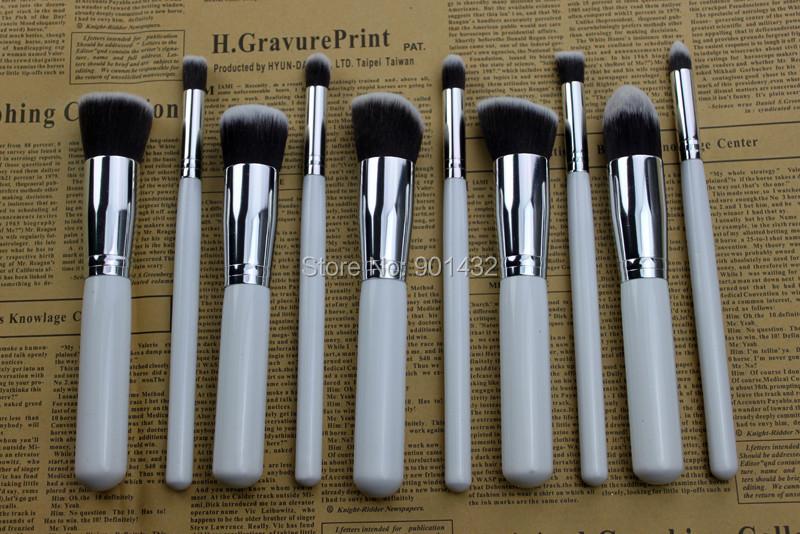 купить Кисти для макияжа Brand new 10 10pcs недорого