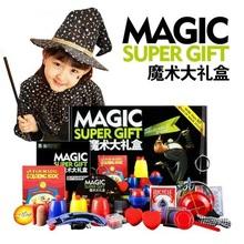 Фокус Комплект 50 Видов Магия Играть с DVD Профессионального Обучения Фокусы Этап Крупным Планом Магия Опоры Gimick Карты Головоломки(China (Mainland))