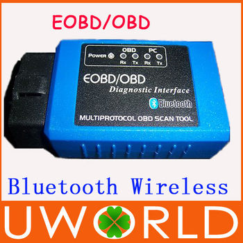 Free Shipping!Newest Torque Android Bluetooth Wireless ELM327 Bluetooth OBDII OBD2 Auto Diagnostic Fuel Code Reader Scanner