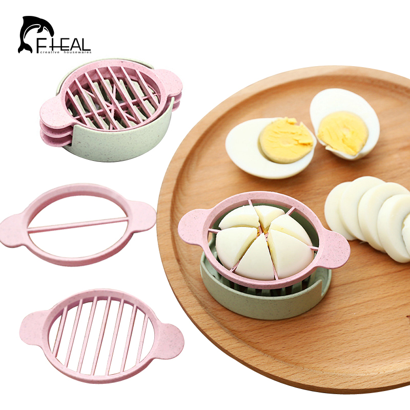 Multifunction Wheat Straw Cut Egg Slicers Tools Dividers Preserved Egg Splitter Cut Eggs Kitchen Essential Cooking Tools(China (Mainland))