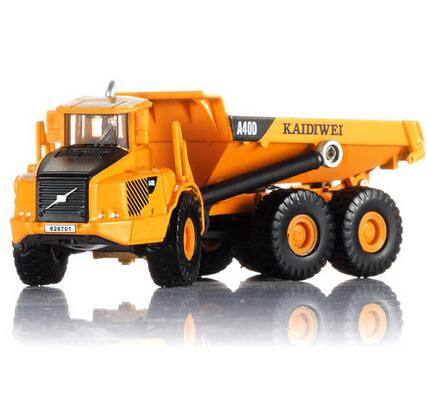1:87 trucks engineering vehicle alloy model dump truck cars toys Free shipping(China (Mainland))