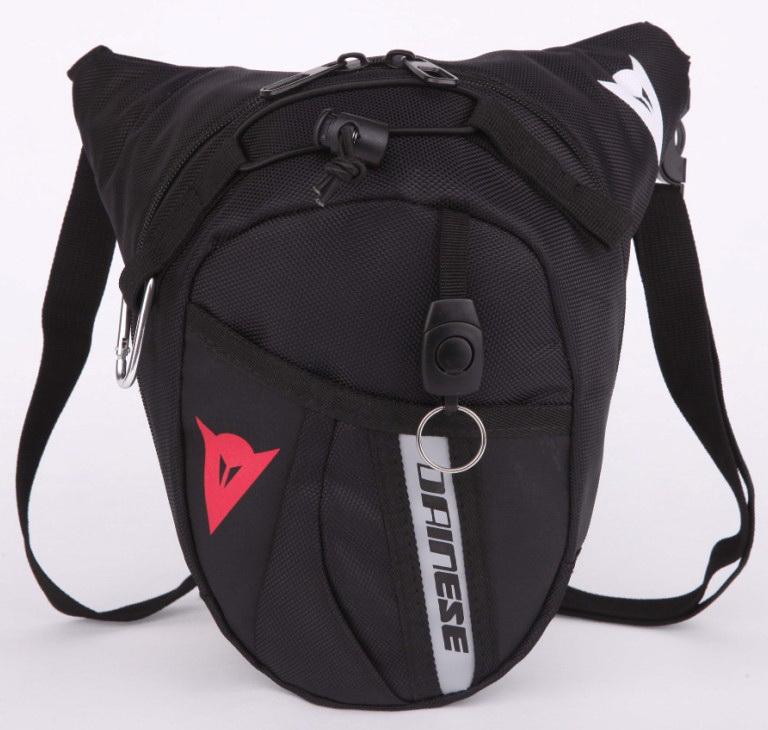 Motocross sports waist bag Drop Leg Motorcycle Cycling Fanny Pack Waist Belt Bag black(China (Mainland))