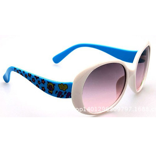 Hot selling high quality fashion children sunglasses summer style large frame kids glasses free shipping glass for boys girls(China (Mainland))