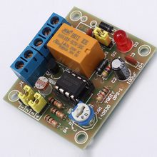 OPS-1 DIY Light-Operated Switch Kit Light Control Switch Photosensitive Electronic Circuit Production Funny Suite DC 5~6V(China (Mainland))
