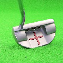 Free shipping golf clubs putter 304# head Steel Shaft men 's brand golf semi-circular putter33/34/35 inch sent headcover(China (Mainland))