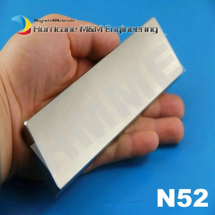 N52 NdFeB Block 150 x 40 10mm Bar Strong Neodymium Permanent Magnets Rare Earth Industry Magnet