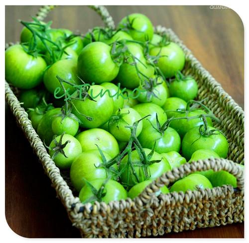 Garden Green Agate Tomato, 20pcs/bag, Mini Tomato, Small Cherry Tomato Seeds, Fruit Vegetable Seeds, Garden Bonsai Free Shipping(China (Mainland))