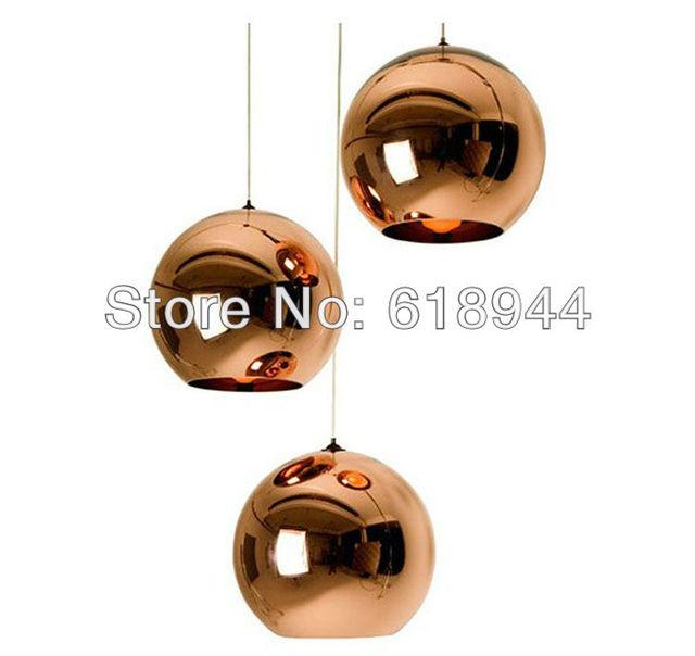 Smallest 20cm Tom Dixon Copper Shade Pendant Lights, Modern  Light Pendant Lamp for Restaurants, Pendant Lamp Modern