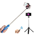 Easttowest Multifunctional Shutter Self timer Monopod Bluetooth Selfie Stick for iphone 7 6s 5 IOS Samsung