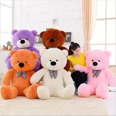 big sale big teddy bear giant large stuffed toys animals plush kid children baby dolls. Black Bedroom Furniture Sets. Home Design Ideas