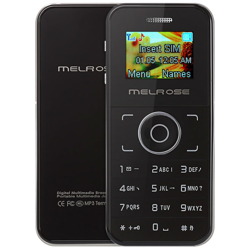 MELROSE M001 1.0 inch OLED Screen Single Core DetachableCard Phone with MP3 Playback Bluetooth dial FM Sound Recorder(China (Mainland))