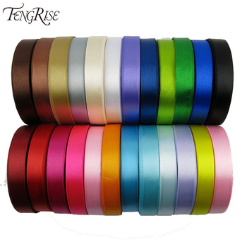 Silk Satin Ribbon 15mm 22 Meters Wedding Party Festive Event Decoration Crafts Gifts Wrapping Apparel Sewing Fabric Supplies