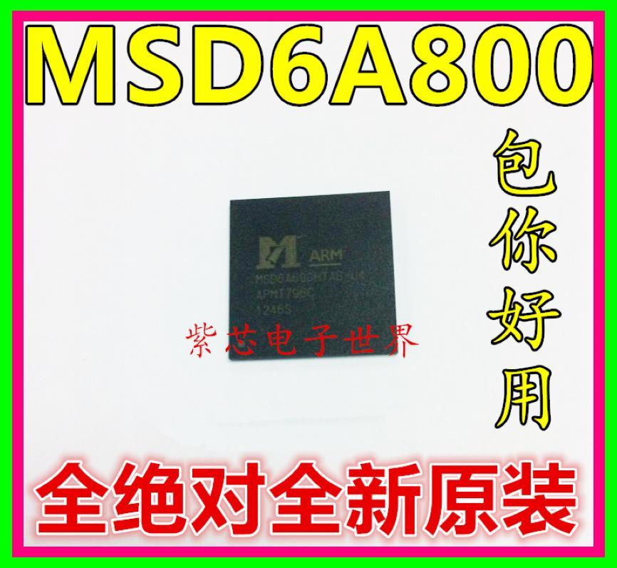 Здесь можно купить  Free shipping 20pcs/lot MSD6A800HTAB-WL BGA LCD chip SMD QFN original authentic  Электронные компоненты и материалы
