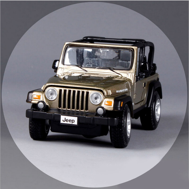 1:28 Children big Designers jeep wrangler rubicon metal diecast car models vehicle collectible miniature play toys for kids(China (Mainland))