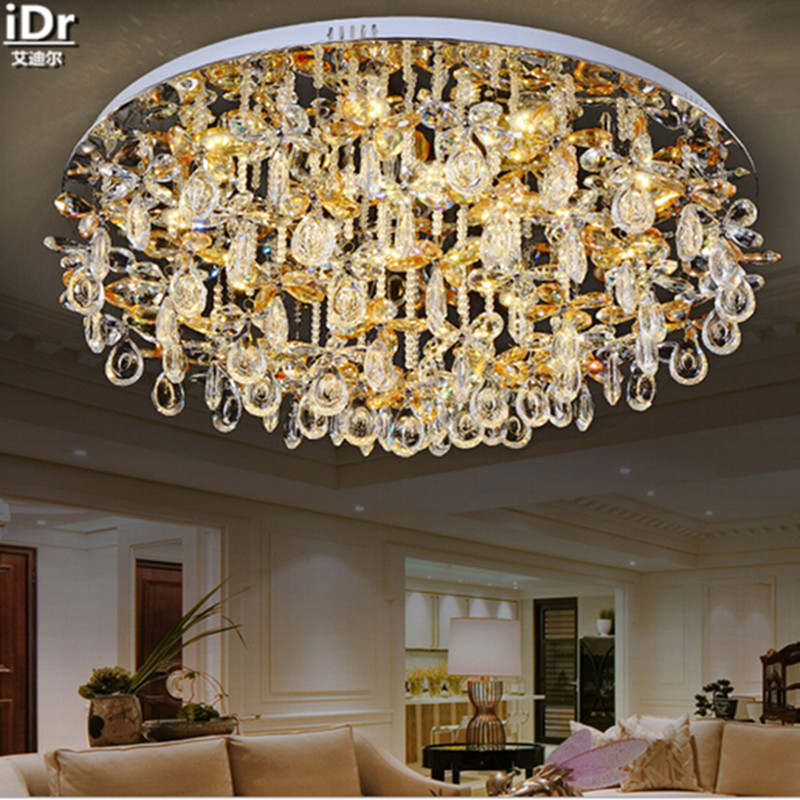 Chinese Style crystal lamp living room lamp bedroom lamp restaurant lights circular LED Specials Ceiling Lights free delivery(China (Mainland))