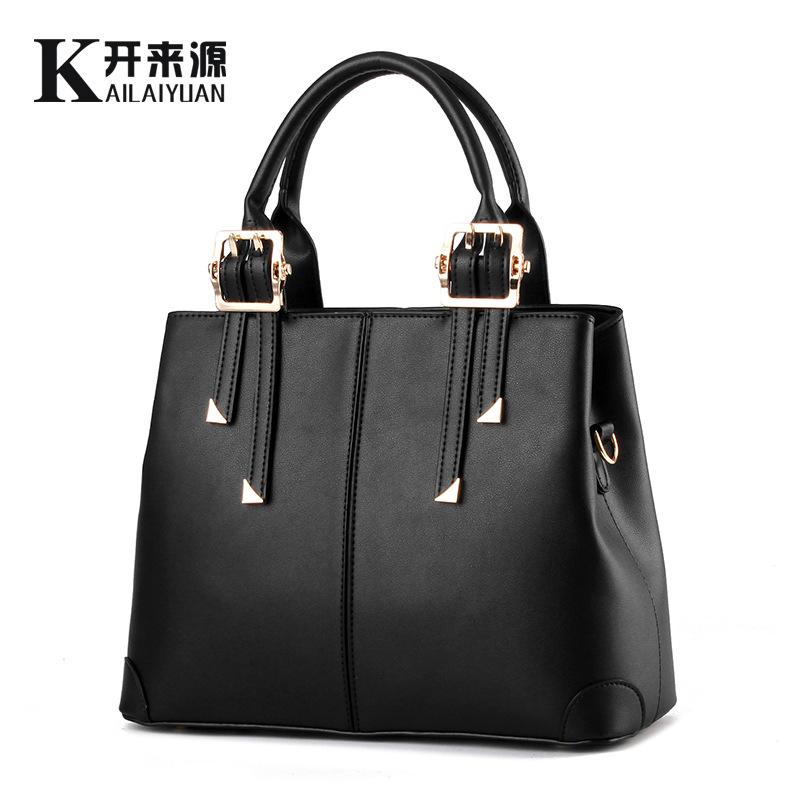 100% Genuine leather Women handbags 2016 bag new handbag fashion handbag Crossbody and temperament type single shoulder bag(China (Mainland))