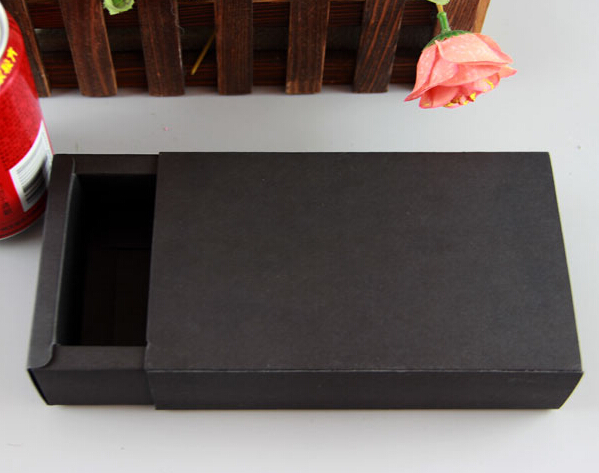 113*43*20MM,Outside size:130*60*22MM, kraft box square , kraft paper box , natural kraft box(China (Mainland))