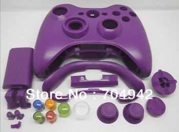 Controller shell for Xbox360 wireless Controller with spare parts