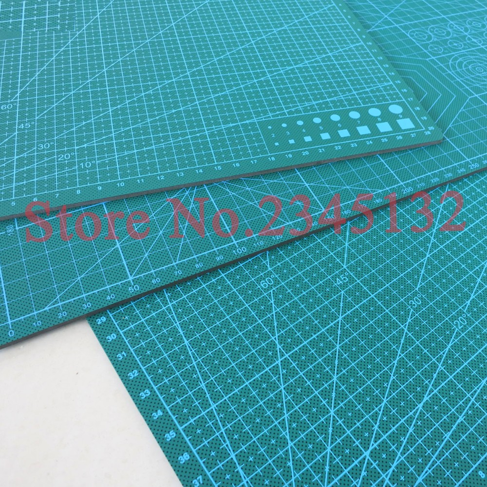 Buy Cutting mat engraving plate(90X60cm) DIY model cutting board design engraving knife dial plate table pad! cheap