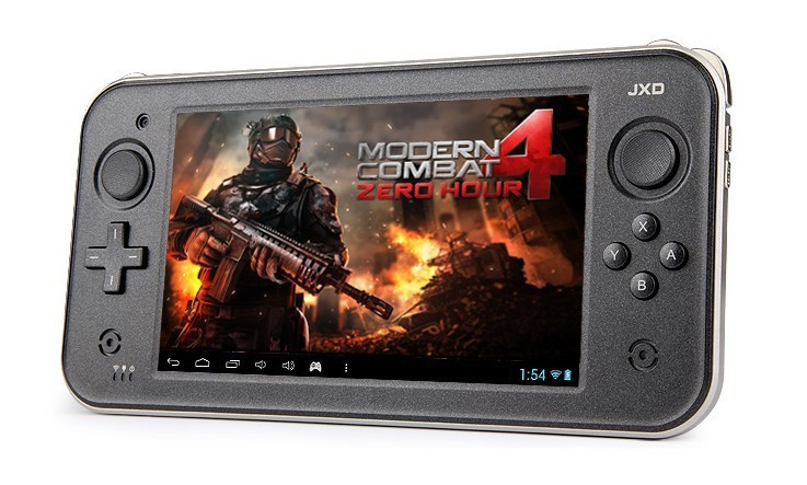New 8G 7 inch 1.5GHz Android 4.2 Touch Screen Handheld Game Mp5 Player WiFi Game Console Quad Core 1024*600 JXD S7300 GamePad2(China (Mainland))