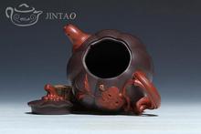 Yixing purple clay painting teapot zisha sand tea pot kungfu set 390ml JN1317