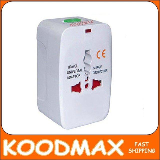 HOT!!! universal power plug multifuctional adapter international AC Travel Voltage Converter Power Plug Adapter KOODMAX