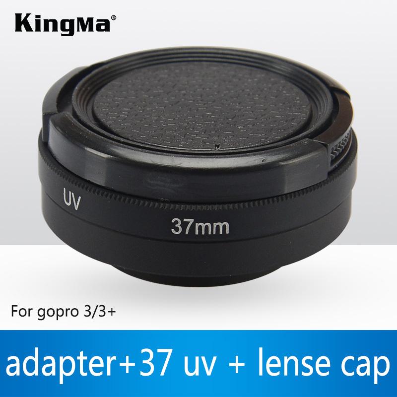KingMa Integral Filter & Lens Cover Set gopro Filter 37MM and 58MM Circular Polarizing Lens gopro Hero 3+ Hero3 Free Shipping(China (Mainland))