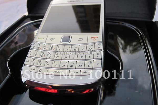 5PCS/LOT &100% original and unlocked blackberry bold 2 9700 mobile phone with WIFI GPS(Hong Kong)