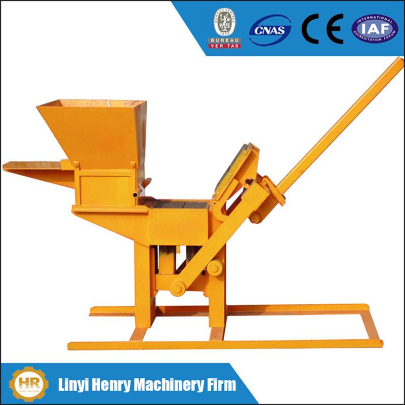 Interlocking Compressed Earth Block Machine : Compressed earth block machine hr manual hand press