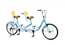 24 Inch  Drum Brake Tandem Bicycle, With 3 Seats(China (Mainland))