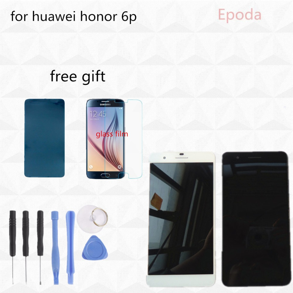 original new for Huawei Honor 6 H60-L02 H60-L12 H60-L04 lcd display+touch screen digitizer assembly free tool free shipping(China (Mainland))
