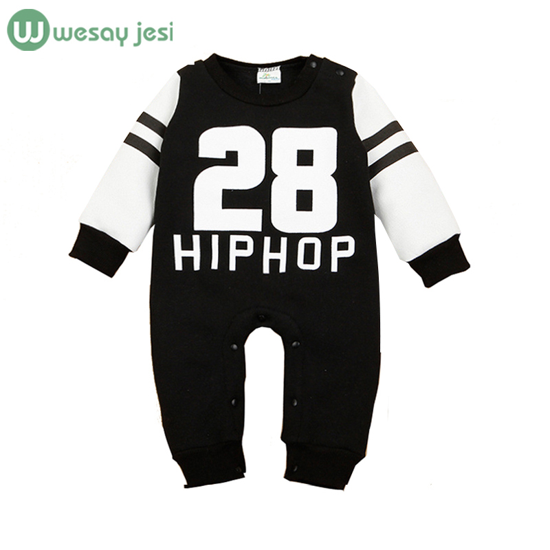 Unisex baby clothes Spring winter Rompers long sleeve fleece jumpsuit newborn snowsuit Baby Boy costumes girls - WESAY JESI W Co. Ltd. Store store