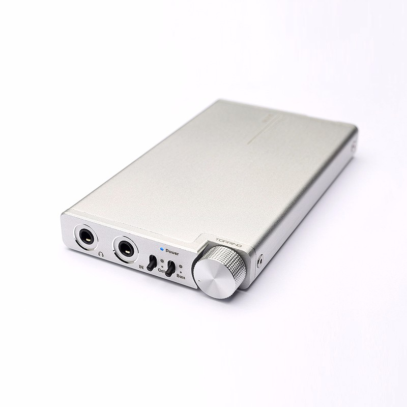 2017 Topping NX5 Mini Portable Earphone Headphone Amplifier HIFI Digital Stereo Audio MP3 Amp with AD8610 and BUF634 Chip