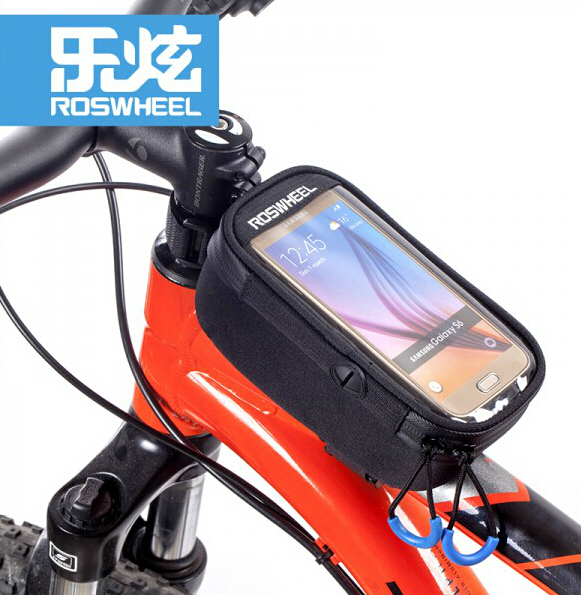 "Roswheel Bicycle Bags 5.2"" 5.7"" Phone Outdoor Sports MTB Bike Bag Touchscreen EVA PVC Cycling Bags Bike Accessories(China (Mainland))"