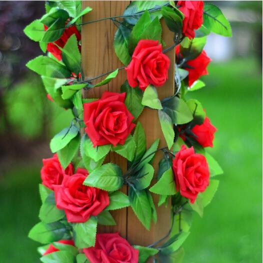 2.5M/pcs home decoration cheap artificial rose flowers flores artificiales plants wedding decoration plant flores party decor(China (Mainland))