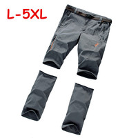 2015 New detchable Outdoor Fast Dry men's Quick Dry Pants camping hiking fishing Pants sport trousers casual pants free shipping