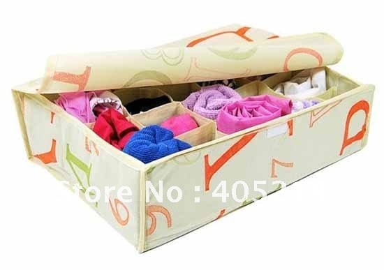 Free shipping - with Figure style 20 grids collecting box /  storage box with soft cover / Best Free gifts