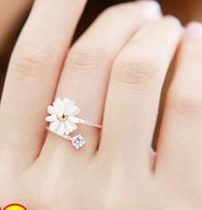 2016 New Do coreano pequeno fresco da flor da margarida menina R21