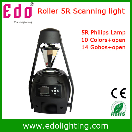 Free Shipping 200W 5R Scanner dj Light Pro Roller professional Stage Light Scanning party light(China (Mainland))
